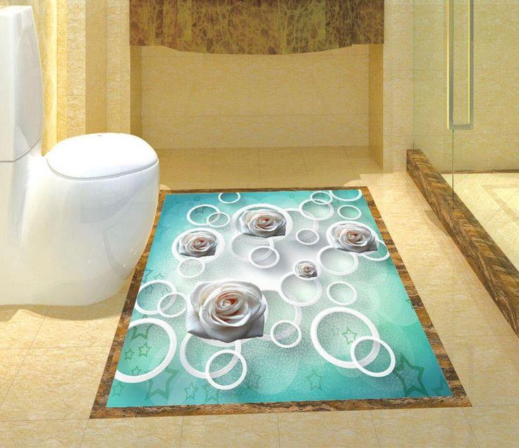 Best 25 Vinyl Flooring Bathroom Ideas Only On Pinterest