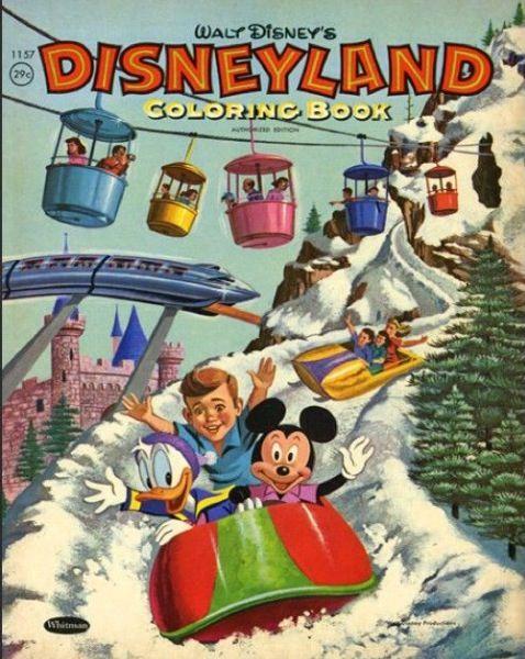 Disneyland Coloring Book 1959