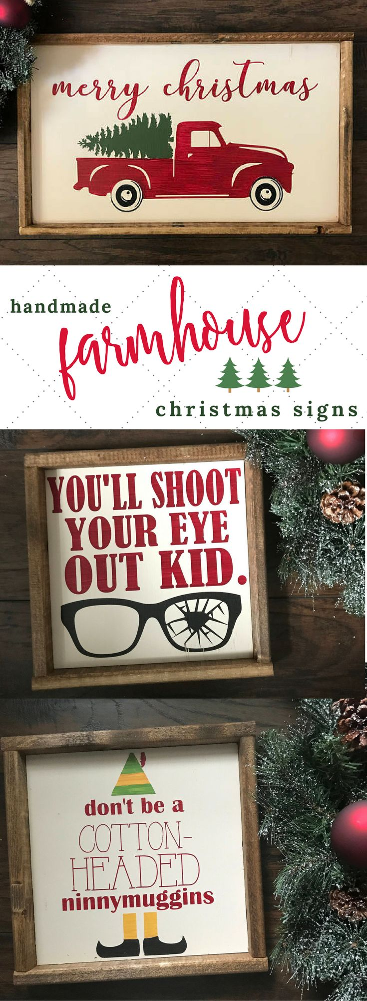 I just love, love, love this darling Farmhouse Christmas Picture!!! Bebe'CTBelle!!! This would make a really great Christmas Gift for a friend!!!