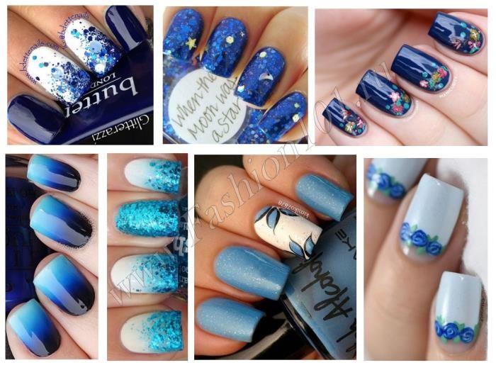 Новогодний дизайн ногтей
