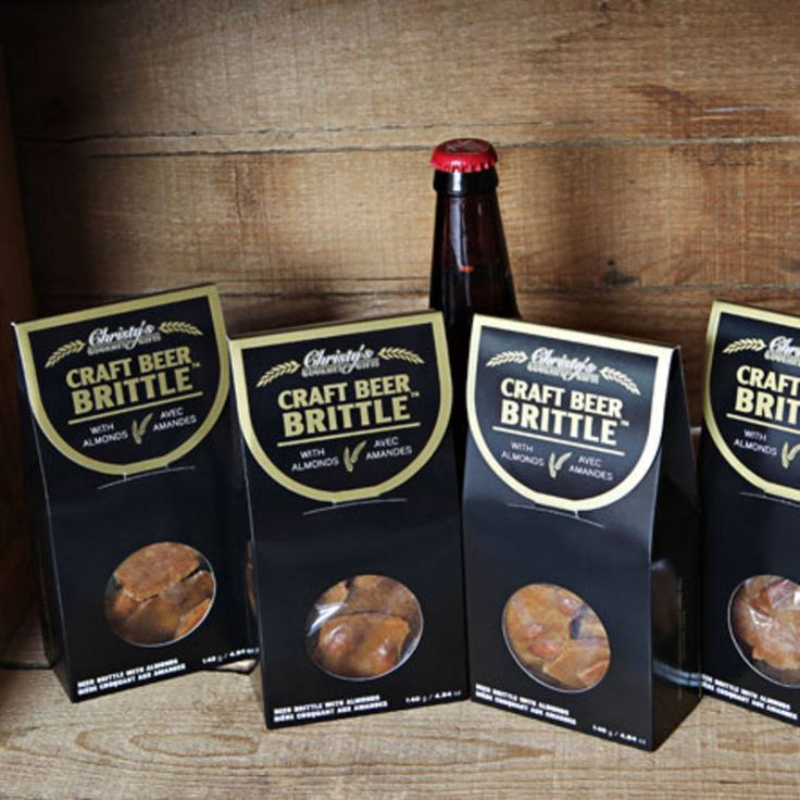 FOR THE CRAFT BEER CONNOISSEUR: This delicious brittle melts in your mouth and is made with local craft beer You won't be able to stop after just one bite!