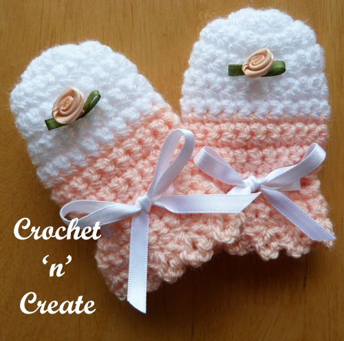Free Crochet Pattern For Baby Scratch Mittens : 17 Best images about Crochet Baby & Childrens on ...