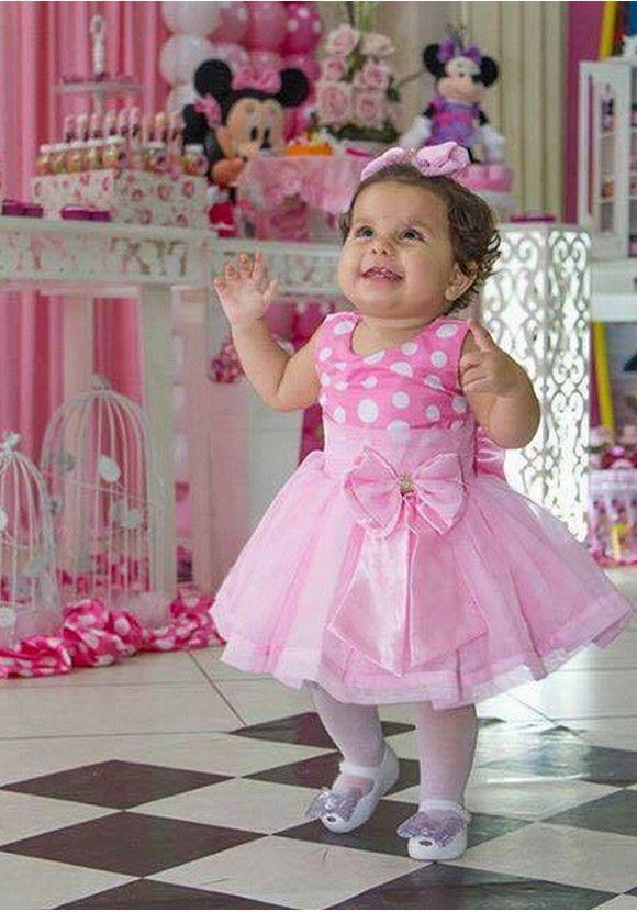 Vestido Festa Infantil Tal Mãe Tal Filha Saia Blusina Rosa