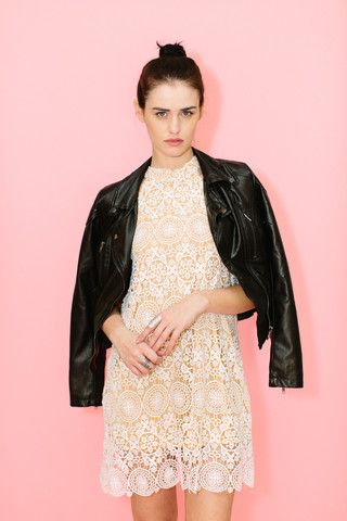 Barely There Halter Dress | :: The Daily Edit ...