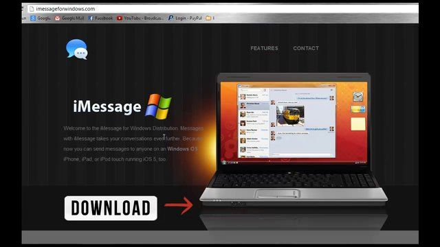 iMessage for Windows (iMessage for Windows 7/8/XP)