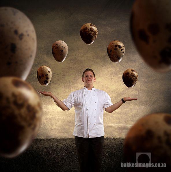 Chef John Shuttleworth of Rust & Vrede Restaurant.