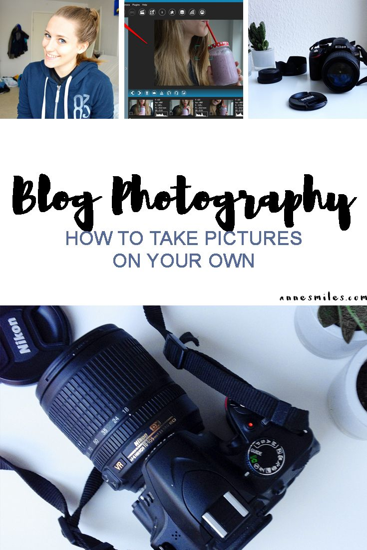 Blog Photography - How to take blogging pictures on your own without a remote