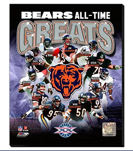 Chicago Bears All Time Great players Canvas Framed Over With 2 Inches Stretcher Bars-Ready To Hang- Awesome & Beautiful-Must For A Championship Team Fan! All Teams Canvas Available-Please Go Through Description & Mention In Gift Message If Need A different Team-Choose Size Option! (16 x 20 inches stretched Chicago Bears All Time Greats Canvas) Art and More, Davenport, IA http://www.amazon.com/dp/B00MWUDONQ/ref=cm_sw_r_pi_dp_BVGzub1QF2NNE