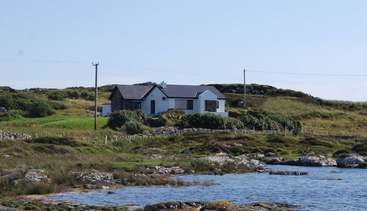 Clifden Vacation Rental County Galway House in Ireland, Ocean Front Home Mannin Bay