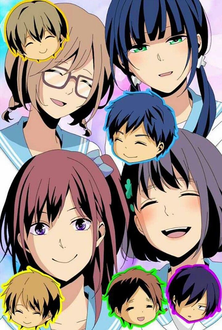 comics manga ReLife 重返17歲 海崎新太 日代千鶴 大神和臣 狩生玲奈 夜明了 小野屋杏 萌香 犬飼