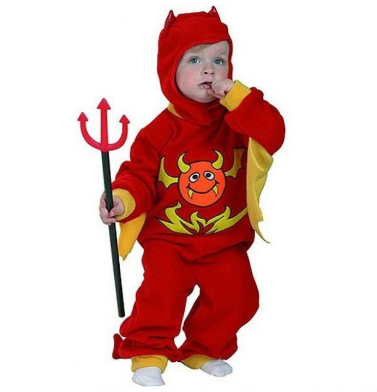 Disfraz de Demonio infantil. Devil child costume. #halloween http://www.leondisfraces.es/producto-957-disfraz-de-demonio-infantil