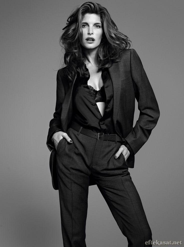 Stephanie Seymour Iconic Leo Women Pinterest Hair
