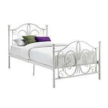 "DHP  Bombay Twin Metal Bed, White - Dorel Home Products - Toys""R""Us"