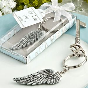 Angel Wing Key Chain Favors (FashionCraft 8369) | Buy at Wedding Favors Unlimited (http://www.weddingfavorsunlimited.com/angel_wing_key_chain_favors.html).