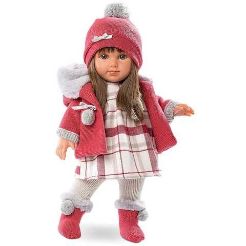 Llorens: Elena lutka u pletenoj odjeći - 35cm
