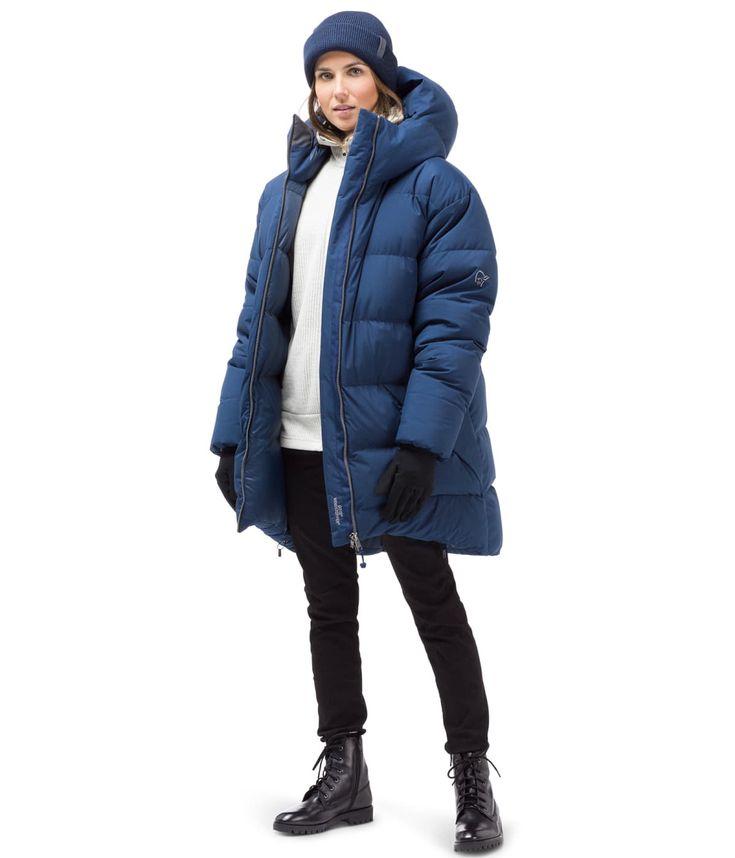 Oslo duvet Jacket (W) indigo night blue size S