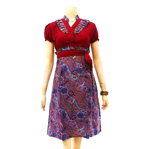 9 best Dress Batik Wanita images on Pinterest  Kimono Dresses