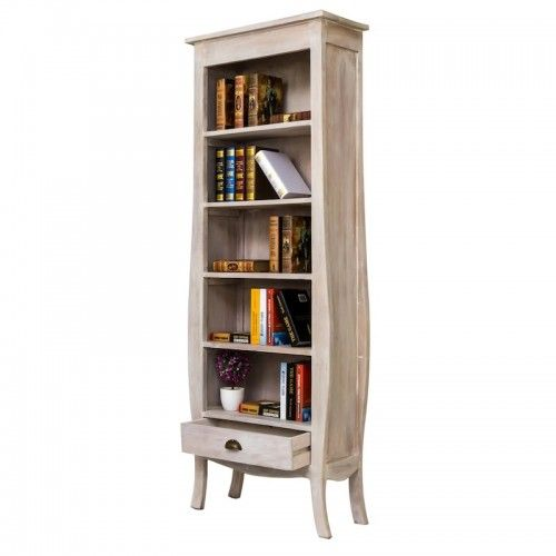 Kemujan | rak buku book shelf furniture classic rumah kantor pajangan interior design library mahogany wood decor unique