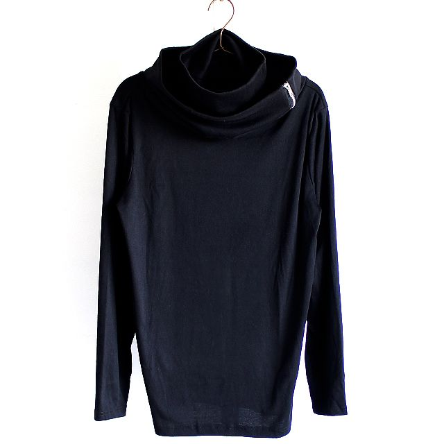 ZIPアレンジ二重タートルネックカットソー | メンズスカートなどモード系ファッションの通販 albino