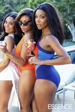 Taraji P. Henson, Gabrielle Union and Regina Hall in Essence Magazine July 2014