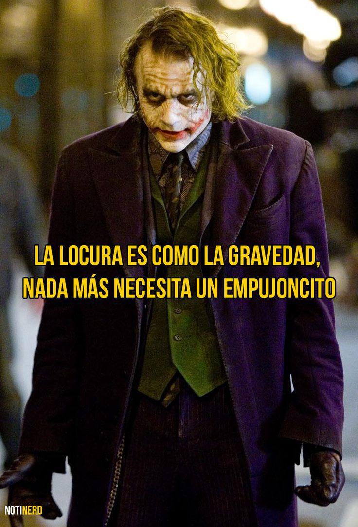 The Joker, también conocido como El Guasón, es uno de los villanos que es imposible no admirar, en la historia de los superhéroes. Muchos pueden decir que es sólo un tipo demente, pero cada frase que sale de su boca es sin censura, cruelmente real. A continuación te presentamos algunas de sus mejores frases.