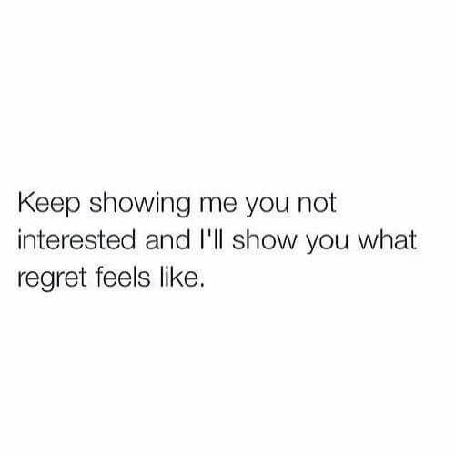 keep showing me