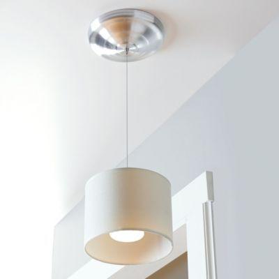 wireless led fabric pendant light. Black Bedroom Furniture Sets. Home Design Ideas