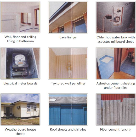 Asbestos can be anywhere like in your home, in the hospital or in your office. The Australian has obtained a list compiled by the company in South Australia.