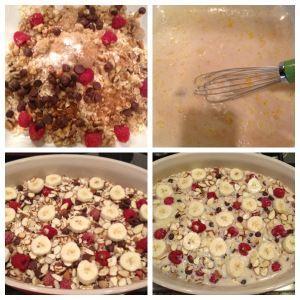 Baked Oatmeal Casserole Breakfast Recipe