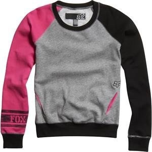 fox racing women's encountered pullover sweatshirt