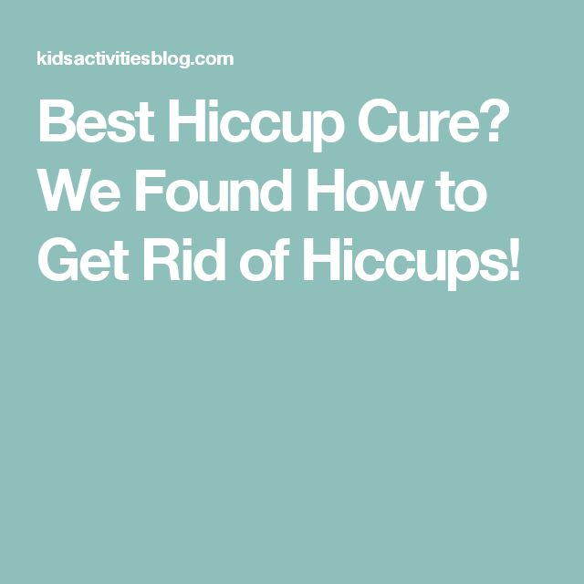 Best Hiccup Cure? We Found How to Get Rid of Hiccups!