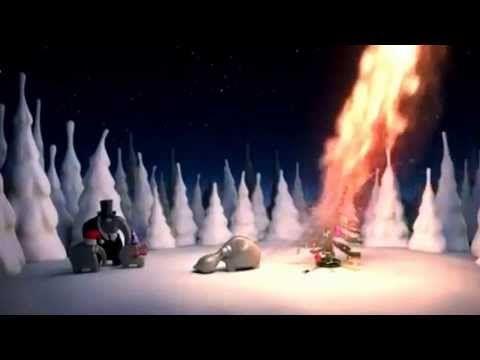 Weihnachten ist nah auch Schneemann und Elch sind - YouTube