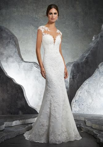 bf90f244b6552 Morilee Maira 8110 Long Sleeve Lace Ball Gown Wedding Dress ...
