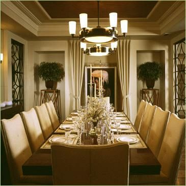 Brown Dining Room Ceiling | CHOCOLATE TRAY CEILING DINING ROOM Provided  By MOXY COLOUR