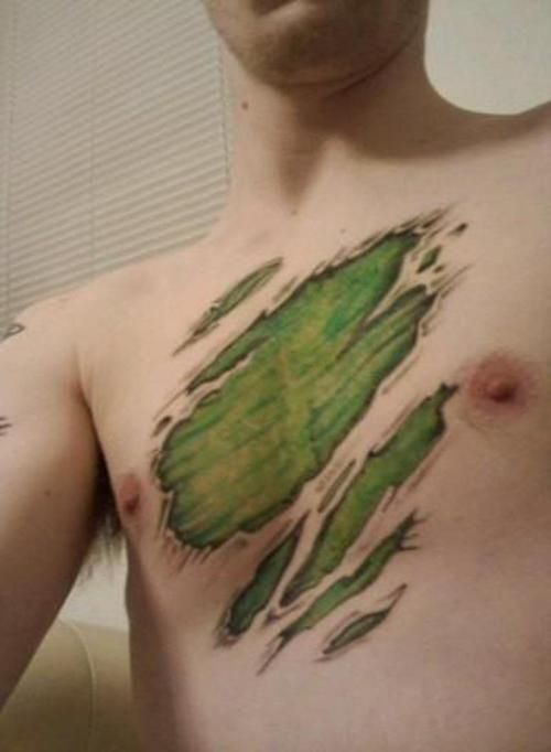 14 Hulk Tattoo Images, Pictures And Ideas