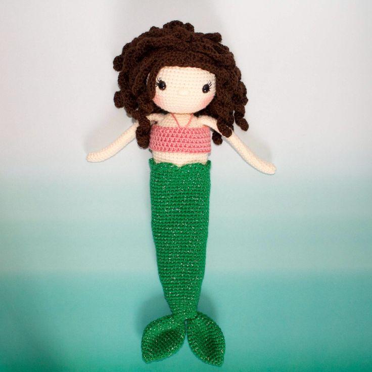 Mejores 128 imágenes de Sirenas en Pinterest | Sirenas, Muñecas de ...