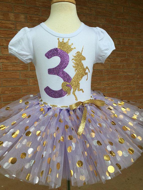 396dd02ccc1d Third birthday unicorn shirt, 3rd birthday outfit, girls third birthday,  unicorn party birthday, 3 year old birthday outfit, lavender purple