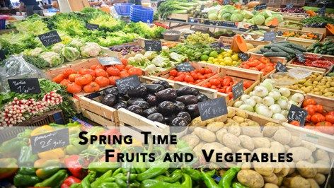 Spring Fruits and Vegetables | Seasonal | Spring produce