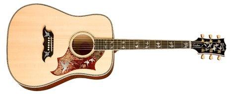 Gibson Dove in Flight