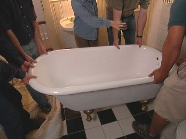 how to refinish a clawfoot tub