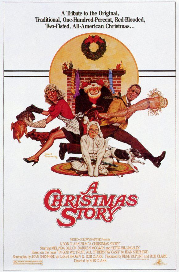 A Christmas Story. I watch the 24-hour marathon every year without fail!