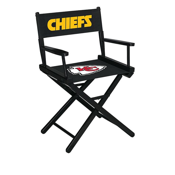 Officially Licensed NFL Table Height Director's Chair - Chiefs