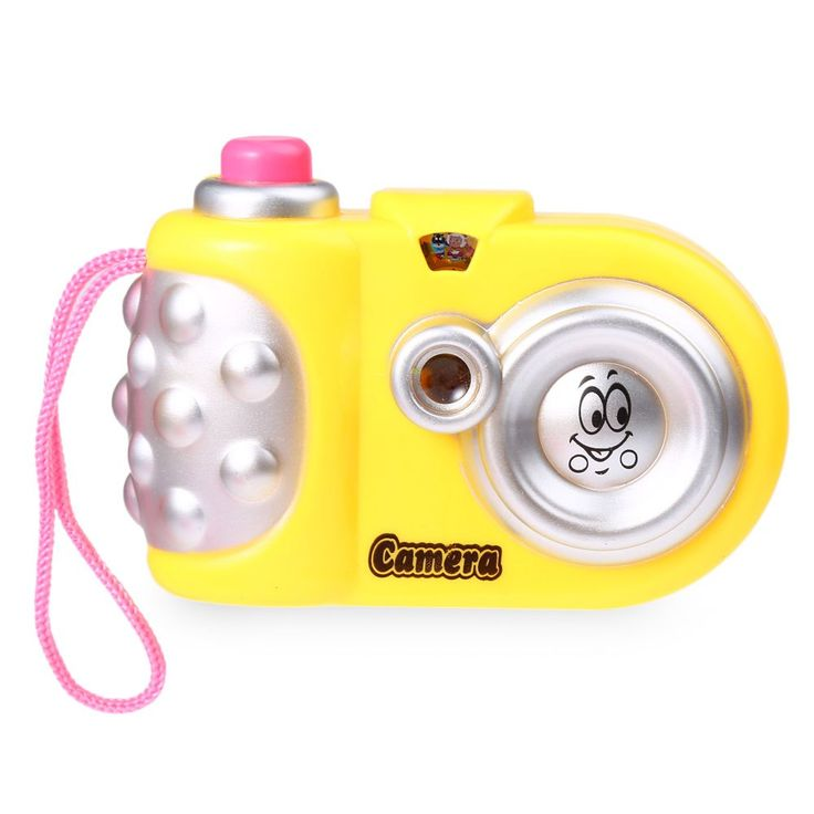 2016 HOT Baby Study Toy Kids Projection Camera Educational Puzzle Camara Toys For Children Fashional Colorful Christmas Gift
