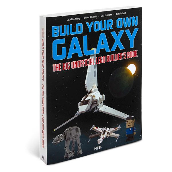 This Build Your Own Galaxy: The Big Unofficial LEGO Builder's Book is awesome. It will help you build all kinds of sci-fi favorites - everything from Star Trek to Star Wars to Space: 1999!    The book provides step-by-step, illustrated guides to building all kinds of out of this world s