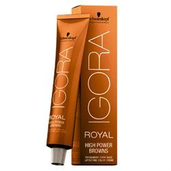 Behind The Chair -  Schwarzkopf Professional IGORA ROYAL High Power Browns