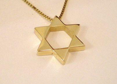 Star of David Pendant of Triangles | HEARTWEAR DESIGNS Birmingham, Michigan