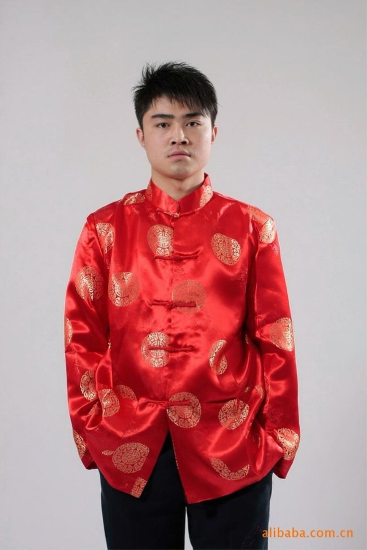 2018 Traditional Chinese Clothing For Men Top Tang Suit