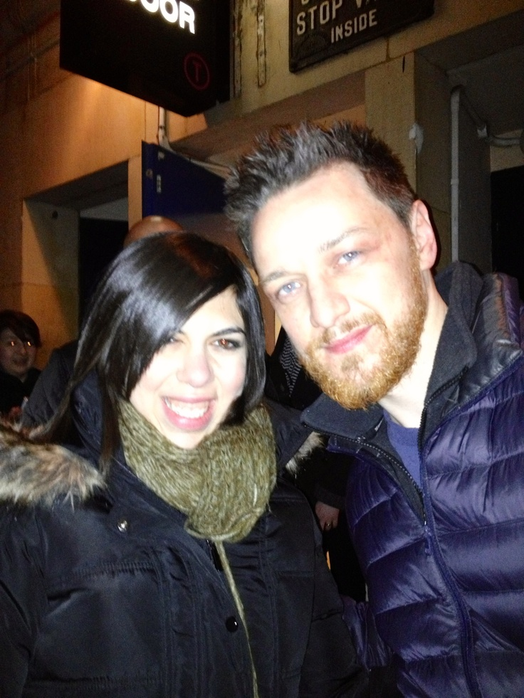 Me and James McAvoy
