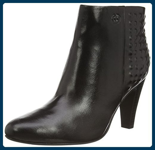 Gerry Weber Shoes Fabienne 16, Damen Kurzschaft Stiefel, Schwarz (schwarz 100), 38 EU (5 Damen UK) - Stiefel für frauen (*Partner-Link)