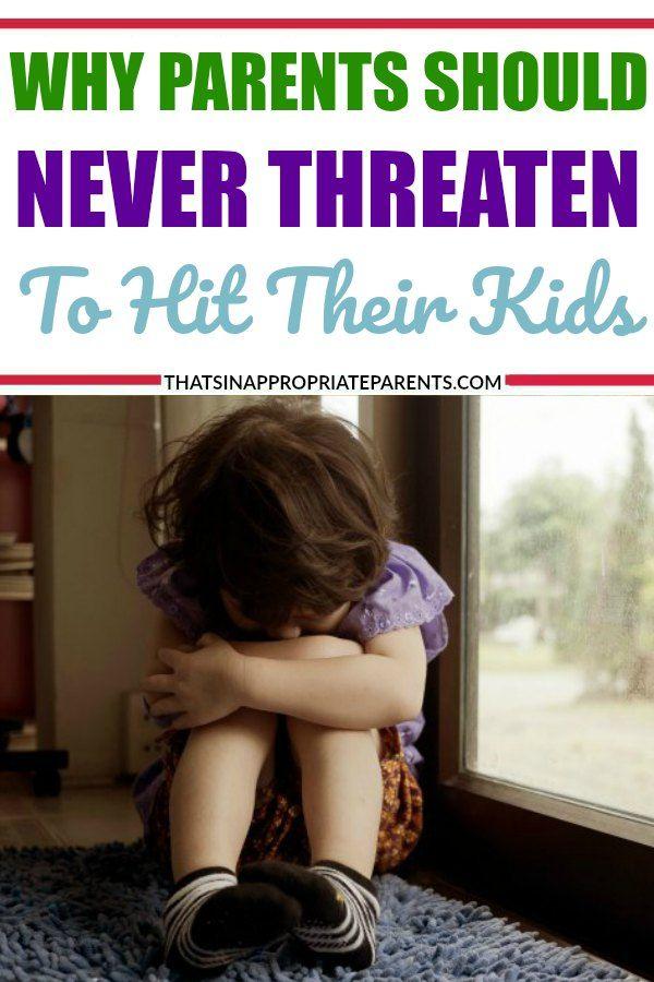 should parents hit their child